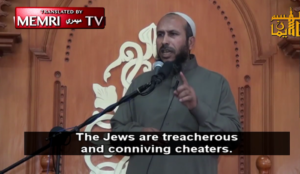 Muslim cleric: Israeli national anthem says we will go where Allah wants when we see our enemies severed heads