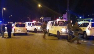 Palestinian Muslims open fire on Israeli civilians: At least 7 wounded, including a pregnant woman