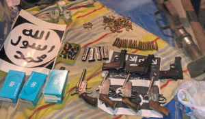 India: Huge weapons cache seized; jihadis led by Islamic law expert plotted massacres at government offices