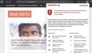 "Microsoft using spurious Leftist ""fact-checking"" site to place warning label on Jihad Watch"