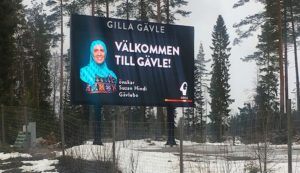 Sweden: Muslim woman in hijab with ties to jihadist mosque chosen for municipality's welcome sign