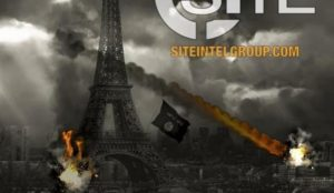 Islamic State calls for jihad massacres in Paris, poster shows Eiffel Tower in flames