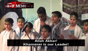 "Houston: Muslim children sing ""Allahu akbar, Khamenei is our leader…we are your soldiers"""