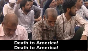 "Friday prayers in Iran: ""America is an abomination. Death To America! Death To Israel! Death To England!"""
