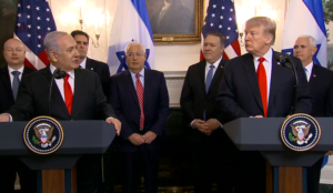 "Trump signs recognition of Israel's sovereignty over Golan; Netanyahu: ""Israel never had a better friend than you"""