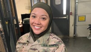 US Muslim soldier suing Army, claims she was forced to remove her hijab in front of others