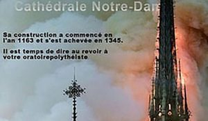 """Islamic State jihadis cheer destruction of Notre Dame cathedral as """"retribution and punishment"""""""