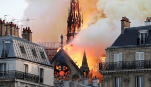 Notre Dame fire: No workers were in the cathedral, no heat sources were near the timber frame