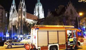 "Germany: Muslim screaming ""Allahu akbar"" who threw stones at Christians in church is mentally ill, not terrorist"