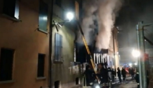 Italy: Muslim migrant sets fire to police station killing two seniors, injuring others