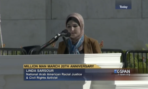 """Linda Sarsour at 'Justice Or Else' Rally: """"I'm Tired of People Asking What The 'Else' Is"""""""