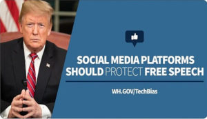 White House initiative to hold social media to account for censorship and bias