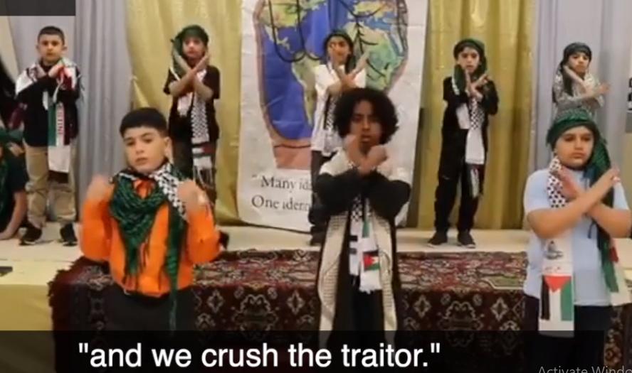 Watch Children Sing Jihadist Songs in Philly