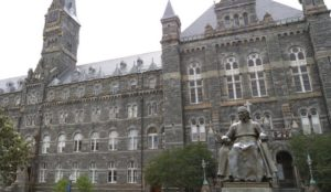 Georgetown, other universities accused of covering up millions taken from jihad-promoting Qatar