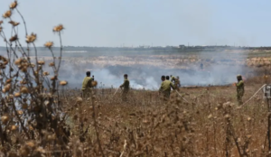 Muslims from Gaza use incendiary balloons to set 100 fires in Israel in the past week