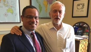 Minnesota Attorney General Keith Ellison embraces UK's anti-Semitic Labour top dog Jeremy Corbyn