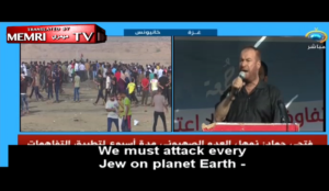 "Hamas: ""Enough warming up… We must attack every Jew on planet Earth and slaughter and kill them"""