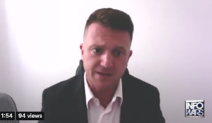 Tommy Robinson appeals to Donald Trump for political asylum in the U.S.