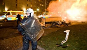 Muslim AK-47s and Bombings Turn Sweden Into War Zone