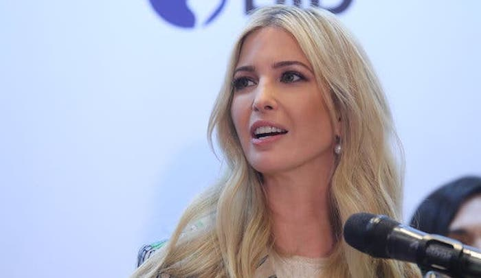 Ivanka Trump Learns That No Good Deed Goes Unpunished