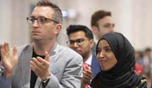 Has hijab-wearing Rep. Omar committed an offense for which Sharia prescribes stoning?