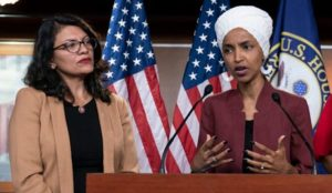 Muslim Representatives Omar and Tlaib parrot Hamas talking points
