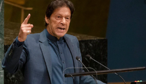 "At UN, Pakistan's Prime Minister decries ""Islamophobia,"" says ""There is no radical Islam. There is only one Islam."""