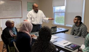 At the Islamic Association of Greater Hartford, Young Muslims Coached to Handle the Media (Part 2)