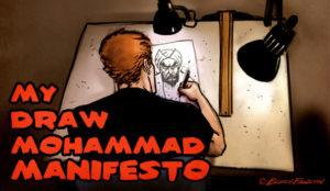 My Draw Mohammad Manifesto
