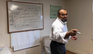 At the Islamic Association of Greater Hartford, Young Muslims Coached to Handle the Media(Part 1)