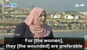 """Video: """"Palestinian"""" women prefer to marry wounded jihadis who receive a PA salary over jobless university grads"""
