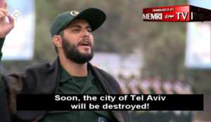 """Iran's Islamic Revolutionary Guards Corps: """"Death to America! We are the conquerors of Jerusalem! Death to Israel!"""""""