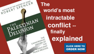 """Spencer brings his formidable erudition and smooth keyboard to the topic of the Palestinian assault on Israel"""