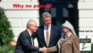 Why no peace?