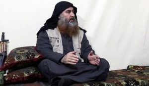 US gives Islamic State's al-Baghdadi burial at sea with Islamic rites