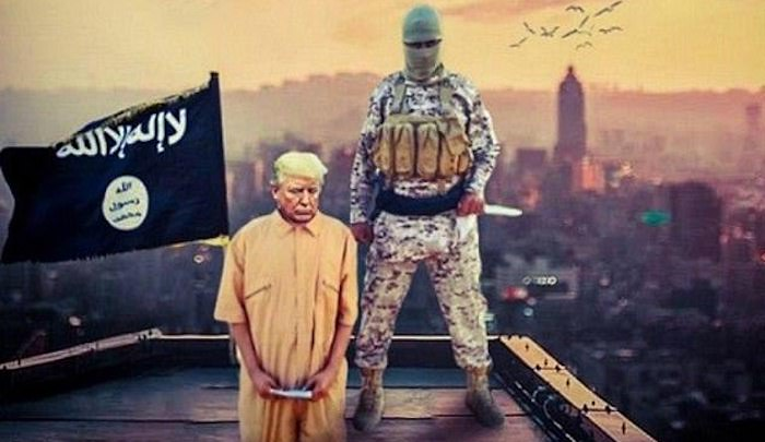 ISIS urges Muslims to masquerade as journalists to get bombs near to world leaders such as Trump