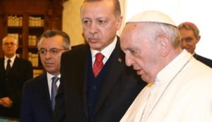 Turkey's ambassador to the Vatican claims that freedom of religion is protected in Turkish law