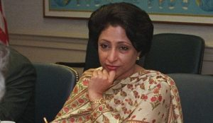 "Maleela Lodhi of Pakistan Promotes the ""Palestinians"" and the 1949 Armistice Lines"