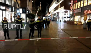 "Netherlands: Man of ""North African or Middle Eastern descent"" injures three in stabbing attack in department store"