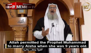 """Muslim cleric: """"Allah permitted the Prophet Muhammad to marry Aisha when she was 9 years old"""""""