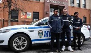Brooklyn: Bullying Muslim Community Patrol officers get bullied back by the Bloods