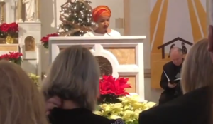 Ilhan Omar Hypnotizes Catholic Church, Reads Islamic Prayer at St. Peters Gathering in D.C.