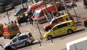 "France: Muslim who stabbed two random people to death was screaming ""Allahu akbar,"" knelt in prayer after murders"