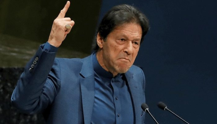 Pakistani Prime Minister Imran Khan blames women wearing 'small clothes' for sexual violence