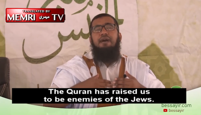 Islamic scholar: 'The Quran has raised us to be the enemies of the Jews. They are the most evil of creatures.'