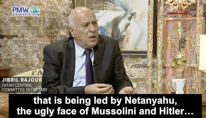 Possible successor of Abbas as PA president accuses Israel of 'Holocaust' against Palestinians