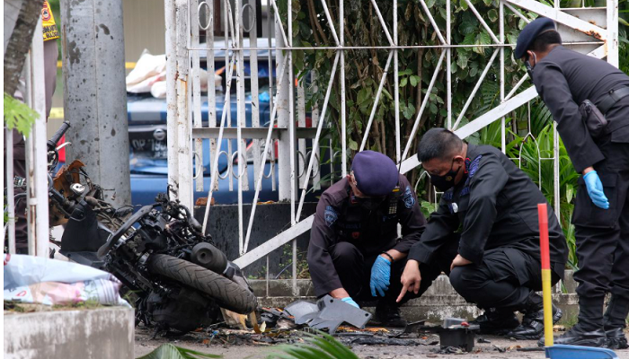 Indonesia: Muslim newlyweds identified as the jihad suicide bombers who attacked church on Palm Sunday