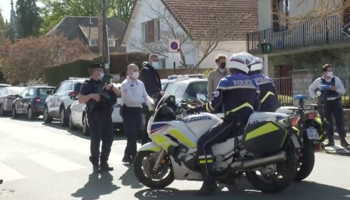 France: Muslim migrant who murdered police officer had Qur'an and prayer rug in his scooter
