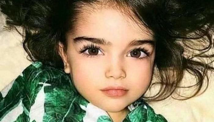 Little girl whom 'Palestinians' claim was killed by Israelis is actually Russian child model who is still alive