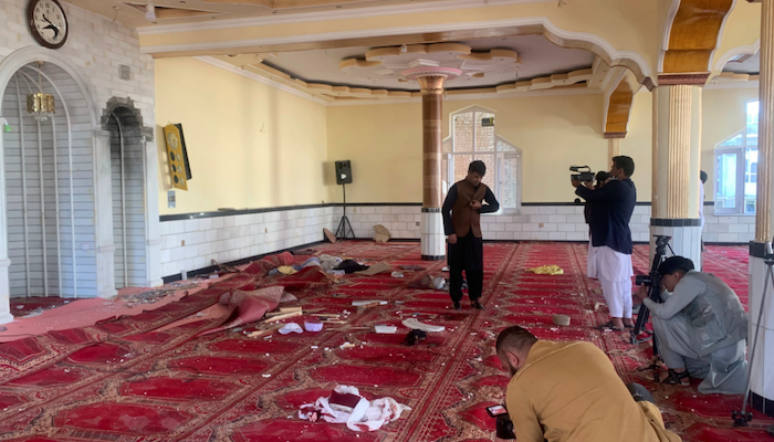 Afghanistan: Islamic State murders at least 12 of the wrong kind of Muslims in mosque for Eid al-Fitr